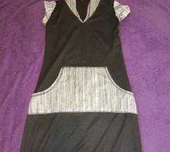 90-te haljina s kapuljacom