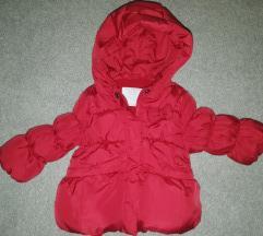Zara  jakna za bebe devojčice
