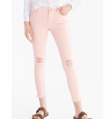 Roze farmerke Novo