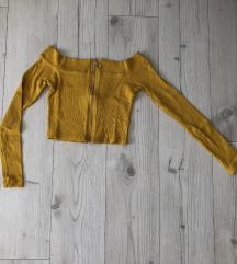 Crop majica dugih rukava