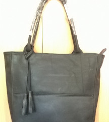 Kozna torba, moderna, velika, kao MONA-NOVA