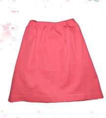 Mini roze suknjica