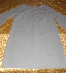 TOM TAILOR siva haljina 42, nova