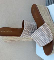 CAFENOIR papuce na platformu_nove