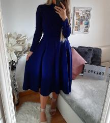 Teget plava haljina 👗🦋
