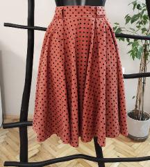 Vintage suknja na tufnice