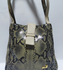 JELENA velika torba prirodna 100%koža 30x30