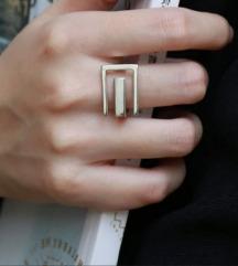 Minimalistički prsten srebro 925 Novo