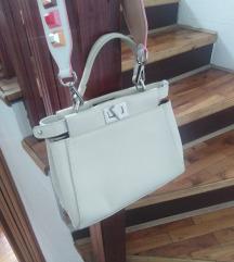 Ženska bela torba
