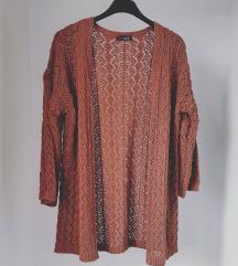 Nusrace Brown Knitted Dzemper Novo🍂