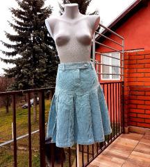 H&М plisirana suknja