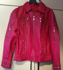 Kozna crvena jakna ponudite