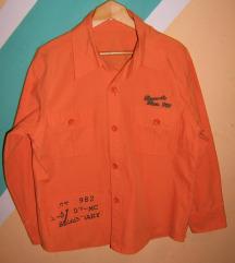 Pamučna oranž košulja