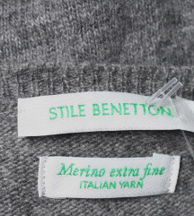 Benetton dugi dzemper XL, novo