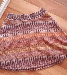 FISHBONE KNITTED Suknja