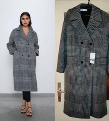 Dostupan Nov sa et Zara vuneni kaput S 92% vuna