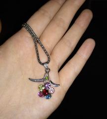Ogrlica cvet 250