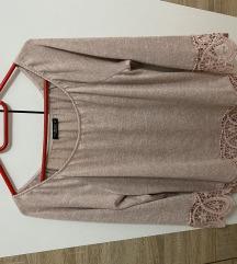 Roze šira majica
