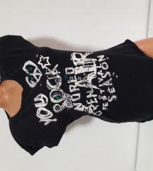 Crna majca sa printom