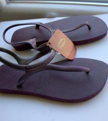 PRODANO Havainas gumene sandale,Nove 38