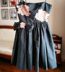 RedValentino mala crna haljina sa masnom