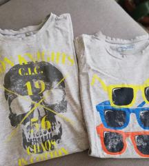 2 majice S velicina
