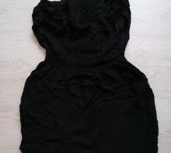 Crna tunika bez rukava