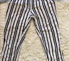 NOVO Pantalone Amisu bele na pruge