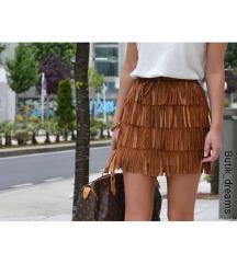 Kožna suknja-NOVO