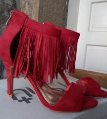 Crvene sandale