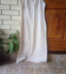 Lanena duga haljina