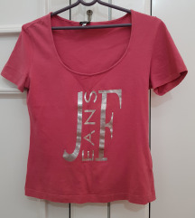 Roze kratka majica FERRE
