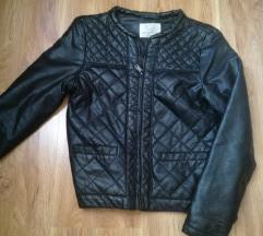 Zara zenska decija kozna jaknica