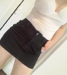 Crna texas suknja
