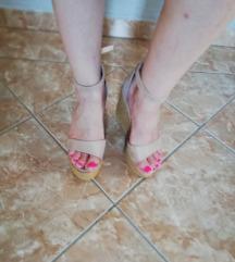 Sandale nude boje , platforma 🌼rasprodaja