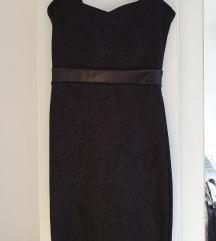 Unikatna crna haljina