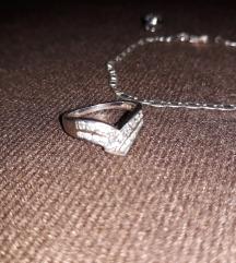 Narukvica i prsten Srebro 925