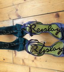 replay i massimo dutti sandale