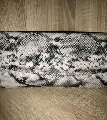 Snake print pismo torbica