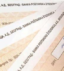 Oglasi unovcavanje cekova Beograd - 064/ 244-7999