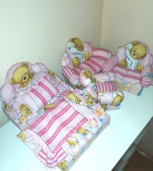 JUMBO krevetići i fotelje za lutkice