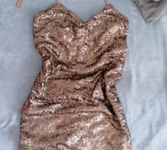 Novogodišnja haljina od šljokica