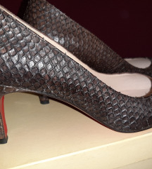 cipele kožne Italijanske zmijska koža NOVE
