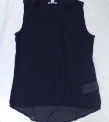 Amisu elegantna teget bluza S/M NOVO sa etiketom