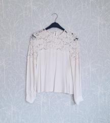H&M čipkana bluza