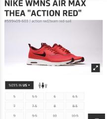 Nike wmns air max original crvene patike 40