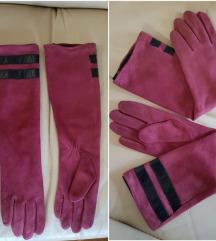 RezTosca Blu kožne duge rukavice, original