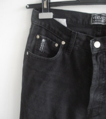 Versace V2 black  wash out jeans