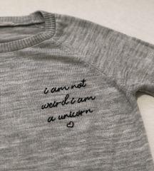 WAIKIKI sivi džemper S presladak