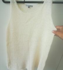 HM končana prljavobela majica na bretele, nenošeno